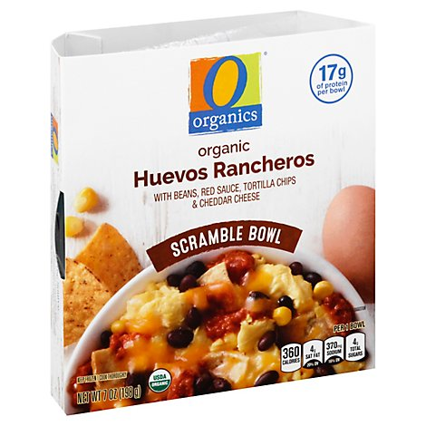 O Organics Scramble Bowl Huevo Rancheros Beans And Egg - 7 Oz