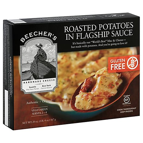 Beechers Roasted Potatoes In Flagship Sauce - 20 Oz