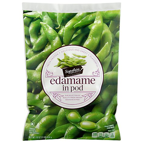 Signature Select Edamame In Pod - 16 Oz