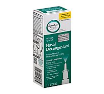 Signature Care Nasal Spray 12 Hour Menthol - 1 Fl. Oz.
