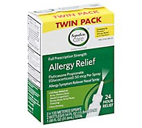Signature Care Allergy Relief Fluticasone Twn Pk - 2-.34 Fl. Oz.