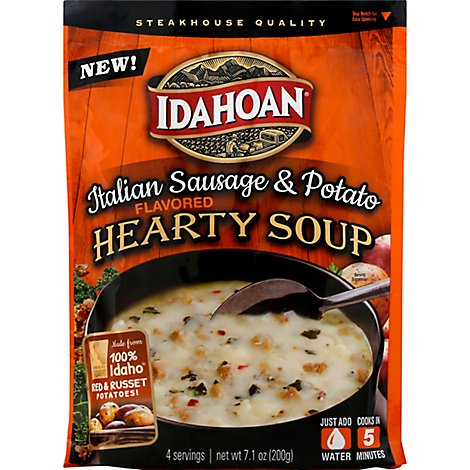 Idahoan Italian Sausage Potato Soup - 6.6 Oz