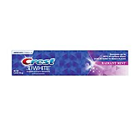 Crest 3D White Toothpaste Fluoride Anticavity Whitening Radiant Mint - 5.4 Oz