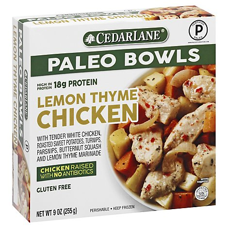 Cedarlane Entree Lemon Tyme Chicken Veg - 9 Oz