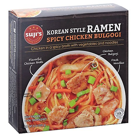Sujis Ramen Korean Style Spicy Chicken Bulgogi - 9 Oz