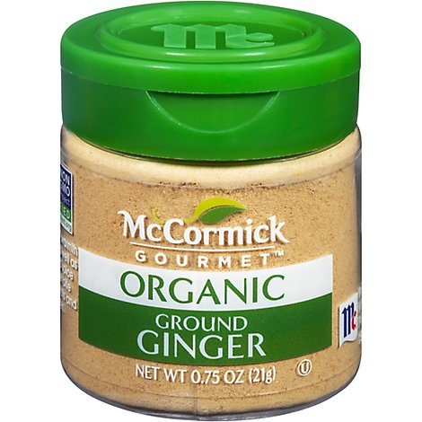 McCormick Gourmet Ginger Ground - 0.75 Oz