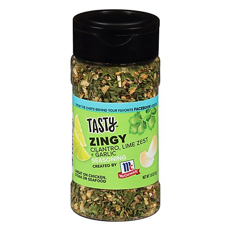 Mccormick Tasty Zingy Seasoning - 1.8 Oz