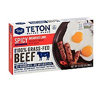 Teton Wat Sausage Spicy Breakfast - 5.6 Oz