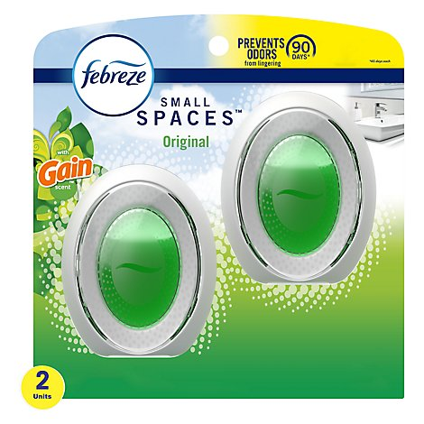 Febreze Small Spaces Air Freshener Gain Original Scent - 2-0.25 Fl. Oz.