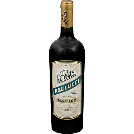 La Posta Malbec Paulucci Vineyard Wine - 750 Ml