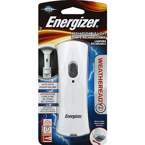 Energizer Weatheready Rechargeable Light LED - Each