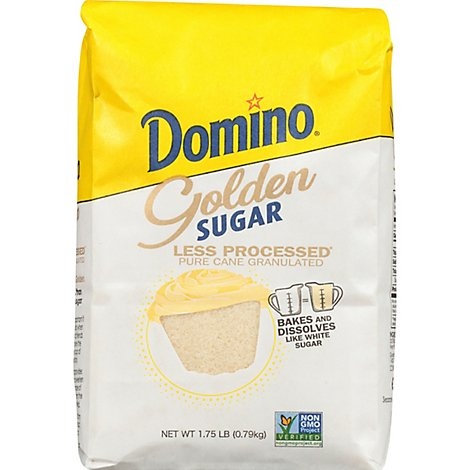 Lb Bag Domino Golden Sugar - 1.75 Lb