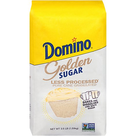 Bag Domino Golden Sugar - 3.5 Lb