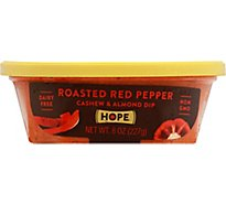 Hope Foods Roasted Red Pepper Nut Dip - 8 Oz