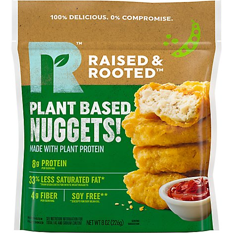 Tyson Raised & Rooted Plant Based Nuggets - 8 Oz
