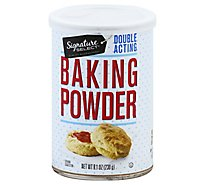 Signature Select Baking Powder Double Acting - 8.1 Oz