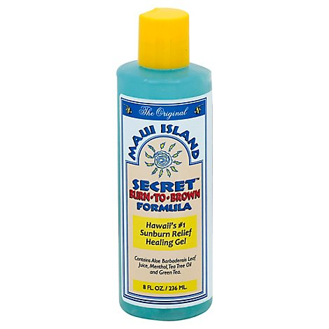 Maui Island Secret Burn To Brown Formula - 8 Fl. Oz.
