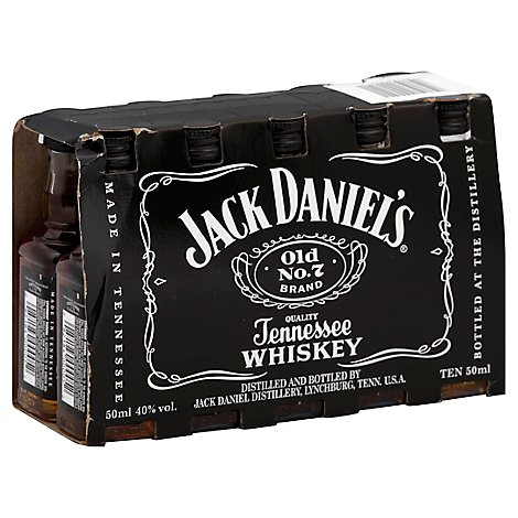 Jack Daniels Whiskey Tennessee Old No.7 - 10-50 Ml