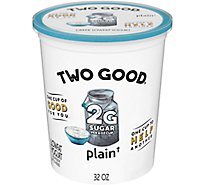 Two Good Yogurt Greek Plain - 32 Oz