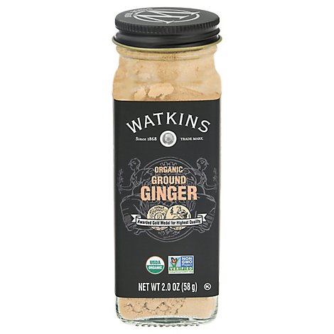 Watkins Ginger Ground Org - 2 Oz