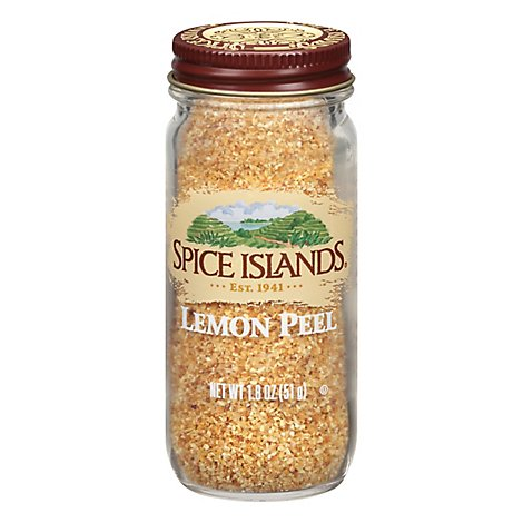 Spice Islands Lemon Peel - 1.8 Oz