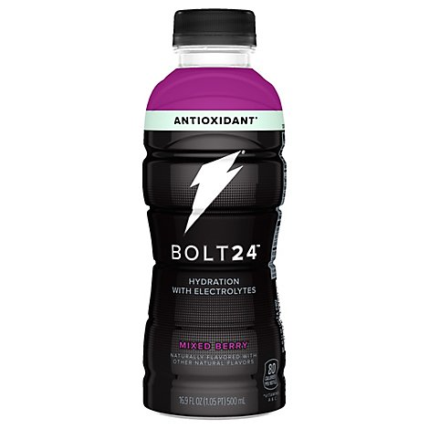Gatorade Bolt 24 Thirst Quencher Beverage Mixed Berry - 16.9 Fl. Oz.