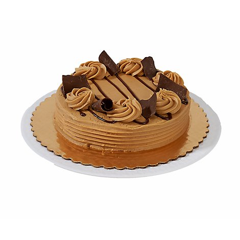 Cake Peanut Butter Chocolate 8in 1lyr