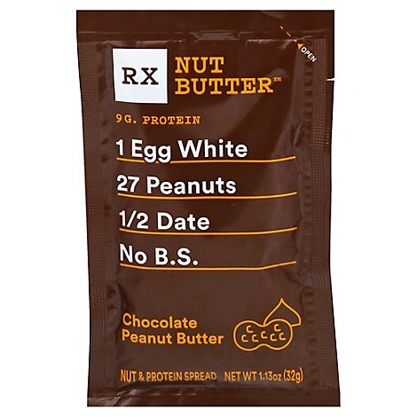 RX Nut Butter Peanut Butter Chocolate - 1.13 Oz