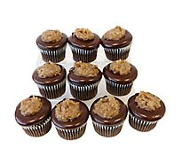 Cupcakes German Chocolate 10ct
