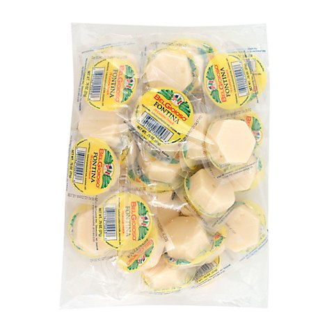 Belgioioso Snacking Fontina - .75 Oz