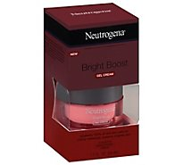 Neutrogena Bright Boost Night Gel Cream Fragrance Free - 1.7 Oz
