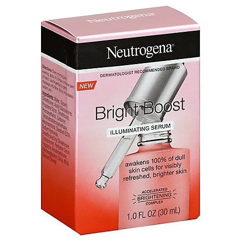 Neutrogena Bright Boost Illuminating Serum - 1 Fl. Oz.