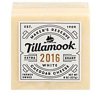 Tillamook Cheese Extra Sharp White Cheddar - 8 Oz