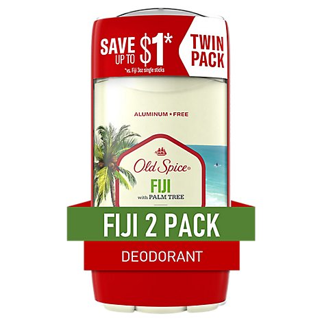 Old Spice Fresh Collection Deodorant Fiji - 2-3 Oz