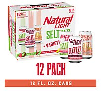 Natural Light Seltzer Aloha Beaches Can - 12-12 Fl. Oz.