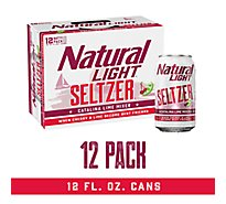 Natural Light Seltzer Catalina Lime Can - 12-12 Fl. Oz.
