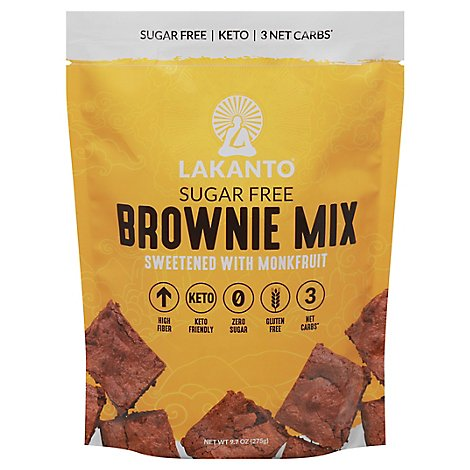Lakanto Mix Brownie - 9.71 Oz