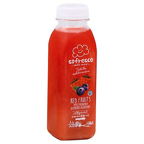 Sofresco Fruit Juice Red Fruits - 12 Fl. Oz.