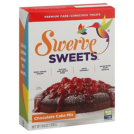 Swerve Sweets Cake Mix Chocolate - 10.6 Oz