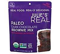 Julies Real Mix Brownie Drk Chocolate - 7 Oz