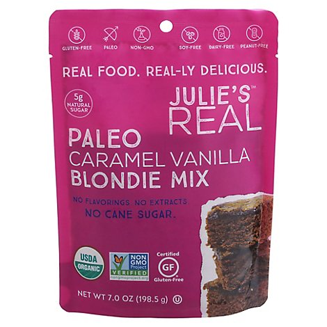 Julies Real Mix Blondie Crml Vanilla - 7 Oz