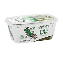 Grillos Pickles Spears Classic Dill - 16 Fl. Oz.