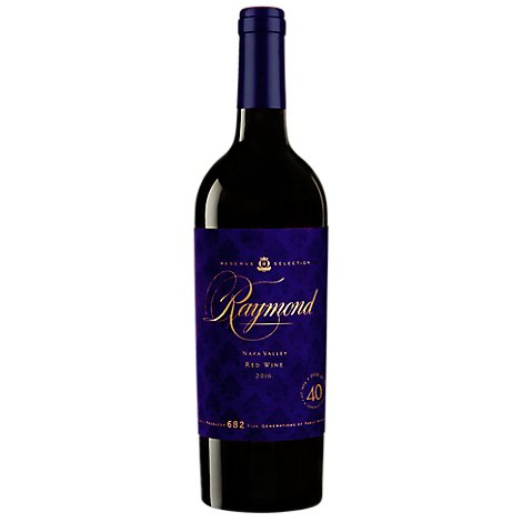 Raymond Reserve Collection Wine Red Napa Valley 2016 - 750 Ml