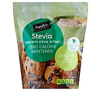 Signature Select Sweetener Stevia Pouch - 9.7 Oz