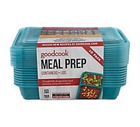 Good Cook Containers + Lids Meal Prep 2 Compartment 3 Cup - 10 Count
