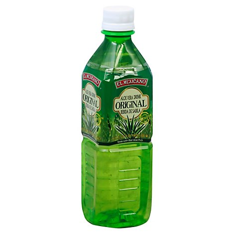 El Mexicano Aloe Vera Drink Original - 16.9 Fl. Oz.