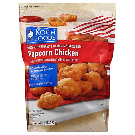 Koch Foods Chicken Popcorn - 25.5 Oz