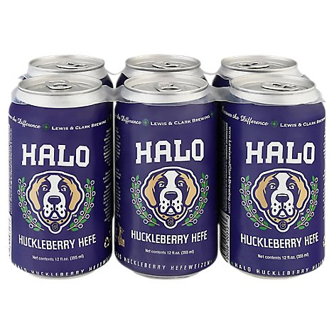 Lewis & Clark Brewing Company Halo Huckleberry Can - 6-12 Fl. Oz.