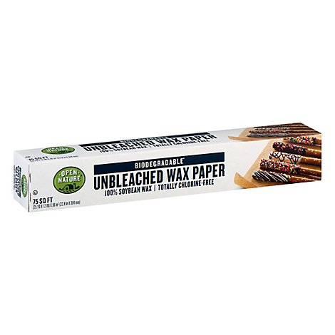 Open Nature Wax Paper Soybean - 75 Sq. Ft.