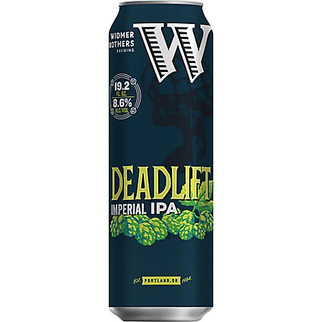 Widmer Deadlift Ipa In Cans - 19.2 Oz